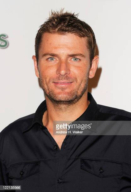Tennis Player Mardy Fish attends the 12th Annual BNP Paribas Taste of Tennis at W New York Hotel on August 25 2011 in New York City