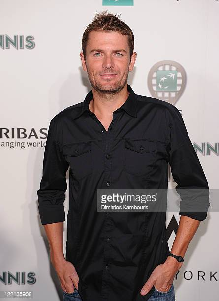 Tennis Player Mardy Fish attends the 12th Annual BNP Paribas Taste of Tennis at the W New York Hotel on August 25, 2011 in New York City.