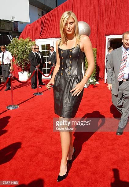 Tennis player Maria Sharapova arrives to the 2007 ESPY Awards at the Kodak Theatre on July 11, 2007 in Hollywood, California.