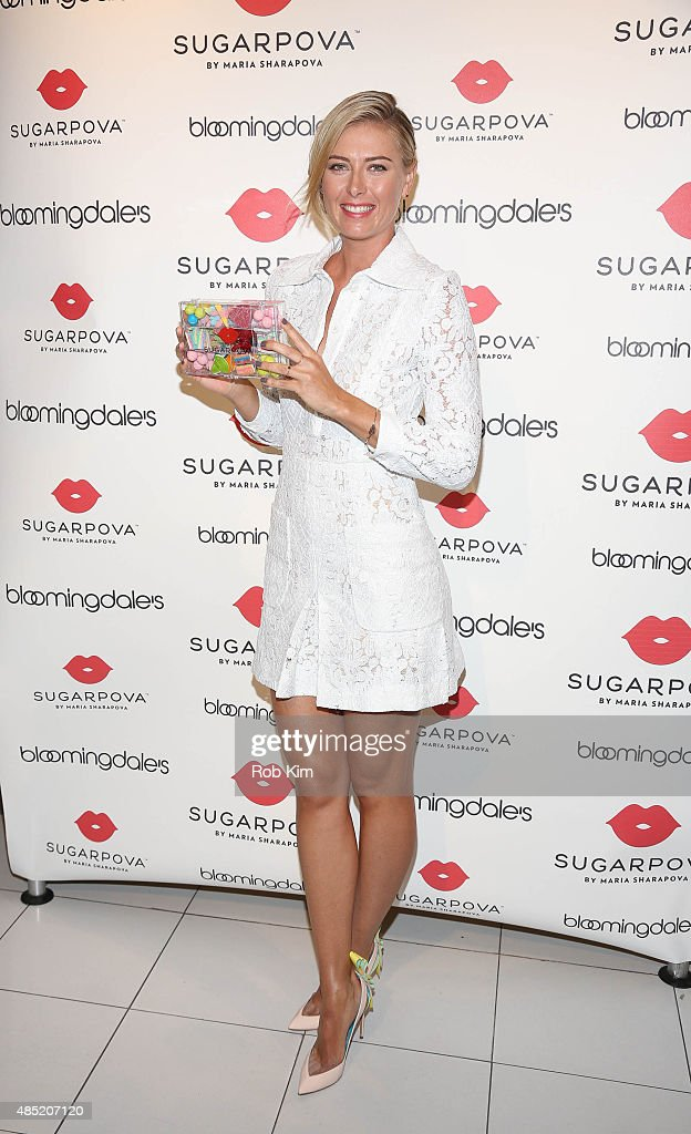 Maria Sharapova Celebrates The New Sugarpova Pop-Up Shop