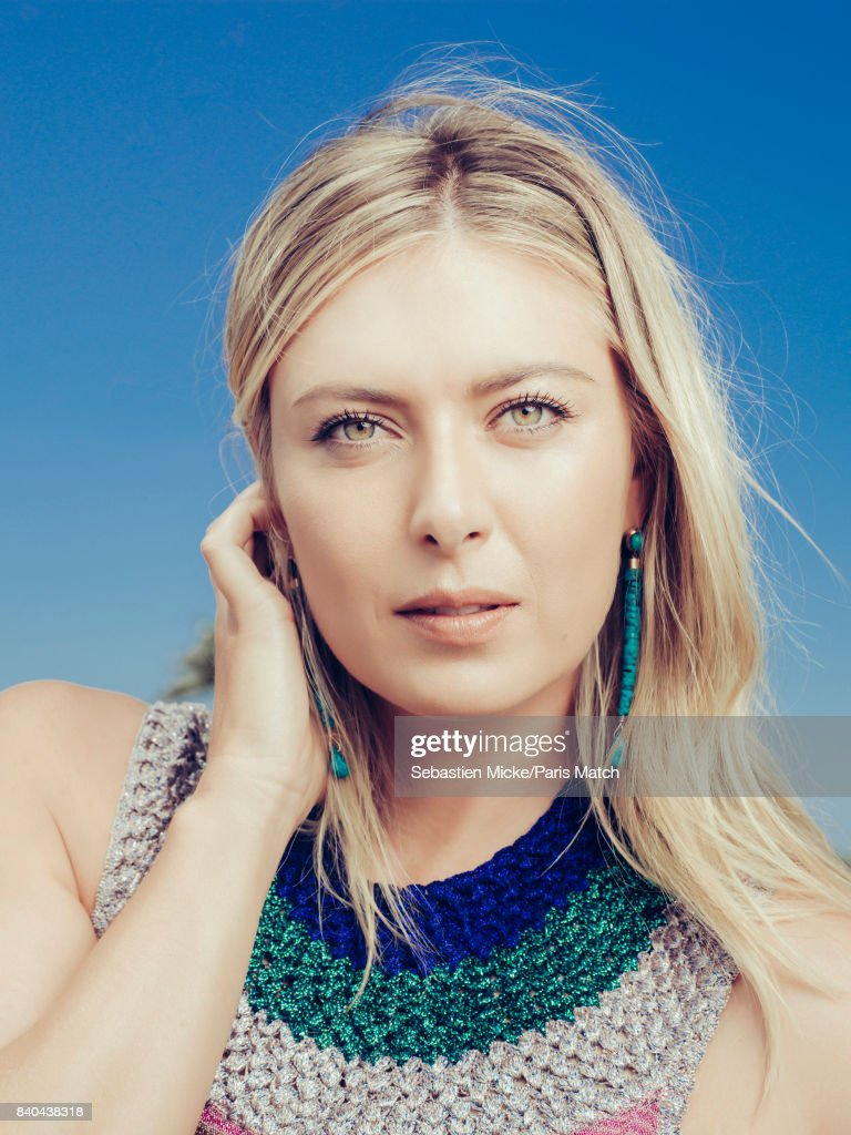 Maria Sharapova, Paris Match 3562, Issue 3562, August 30, 2017