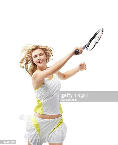 Tennis player Maria Sharapova is photographed on November 22 2006 in Florida New York