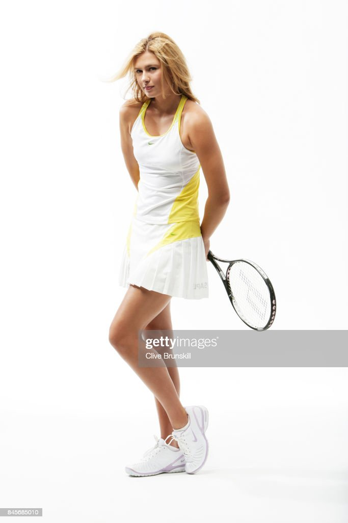 Tennis player Maria Sharapova is photographed on November 22, 2006 in Florida, United States.