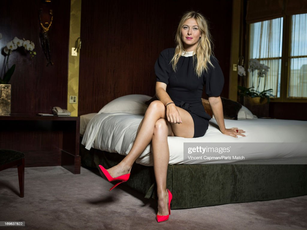 Tennis player Maria Sharapova is photographed Paris Match on May 22, 2013 in Paris, France.
