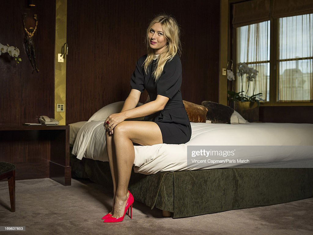 Maria Sharapova, Portrait shoot, May 22, 2013