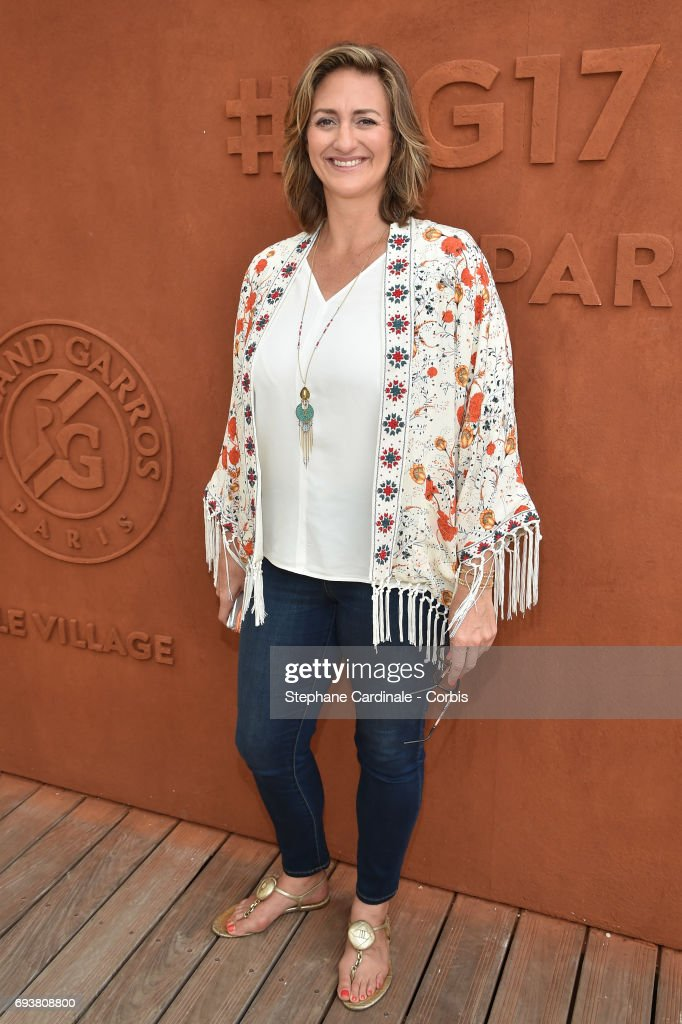 Celebrities At 2017 French Open - Day Twelve : ニュース写真