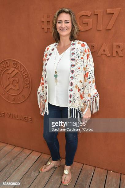 Tennis Player Mary Pierce attends the French Tennis Open 2017 - Day Twelve at Roland Garros on June 8, 2017 in Paris, France.