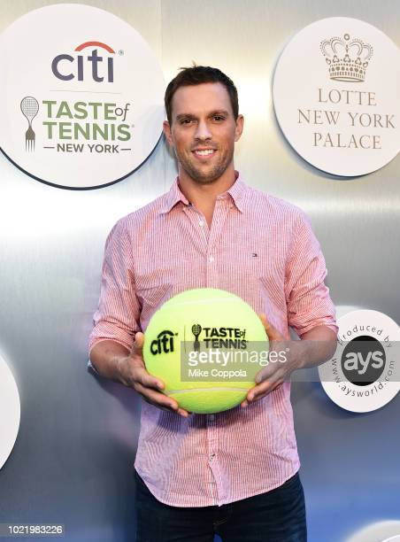 Tennis player Mike Bryan attends the Citi Taste Of Tennis gala on August 23 2018 in New York City