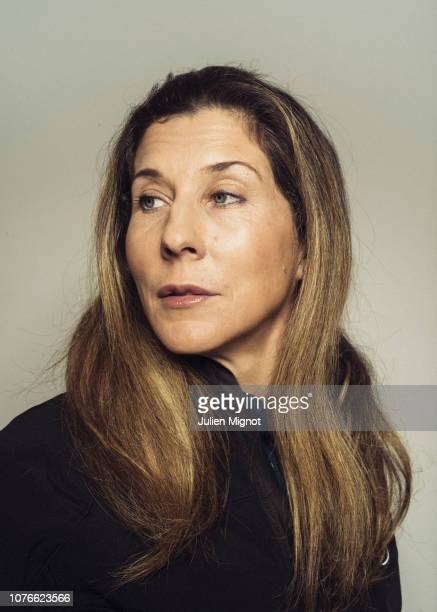 Tennis player Monica Seles poses for a portrait on February 2018 in Monaco France