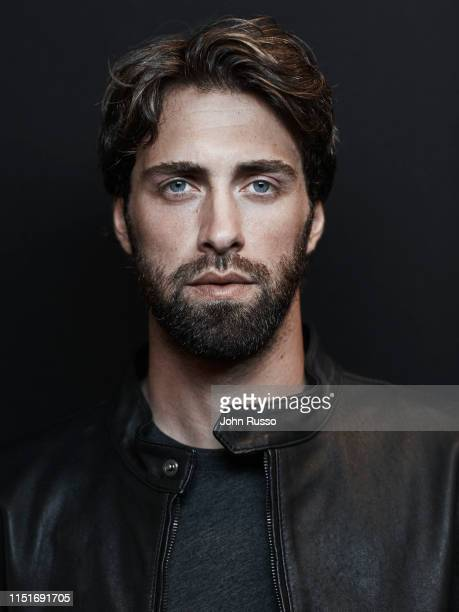 Tennis player Nikoloz Basilashvili is photographed for Gio Journal on March 5 2019 in Indian Wells California