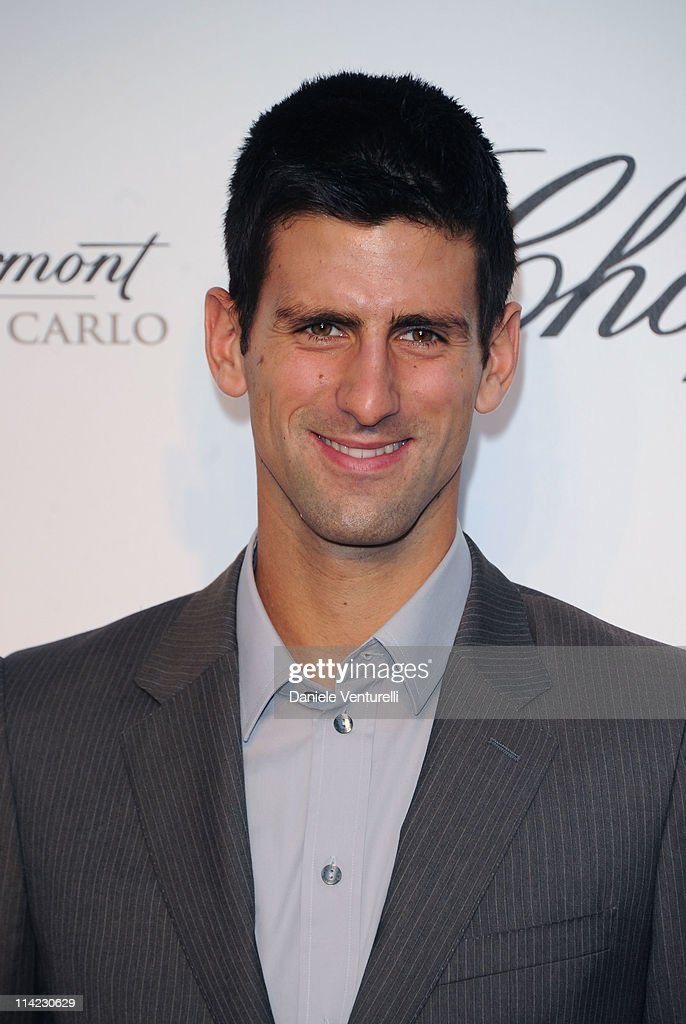 Tennis player Novak Djokovic attends Fashion For Relief Japan Fundraiser during the 64th Annual Cannes Film Festival at Forville Market on May 16, 2011 in Cannes, France.