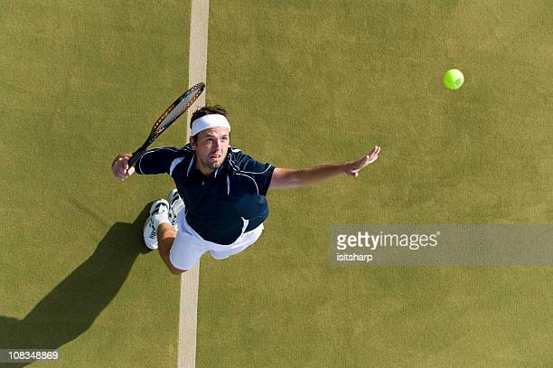 tennis player - tennis stock-fotos und bilder