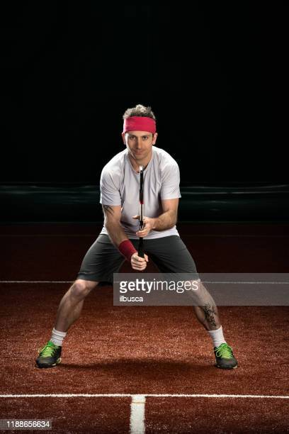 tennis player preparation - tennis player stock pictures, royalty-free photos & images