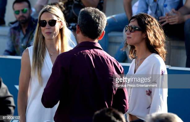Tennis player Rafa Nadal's girlfriend Xisca Perello and sister Isabel Nadal attend the graduation ceremony of Rafa Nadal Academy's International...