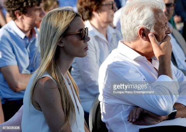 Tennis player Rafa Nadal's sister Isabel Nadal and father Sebastian Nadal attend the graduation ceremony of Rafa Nadal Academy's International Tennis...