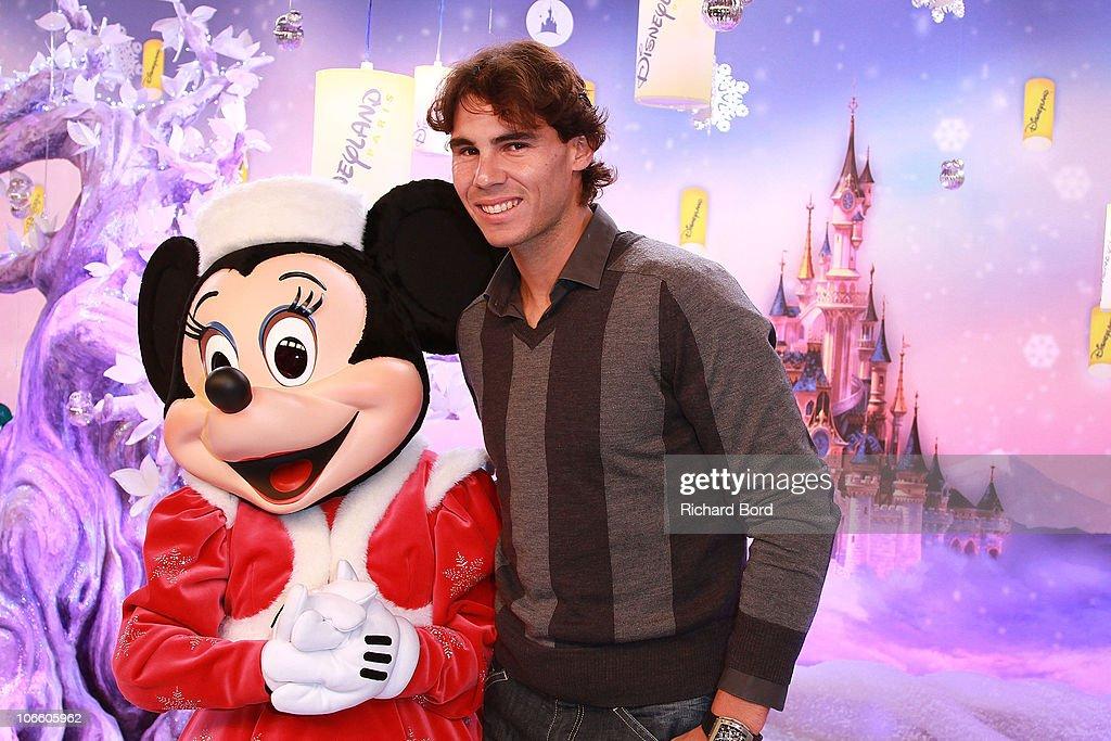 'Raiponce' - Christmas Season Launch at Disneyland Paris : News Photo