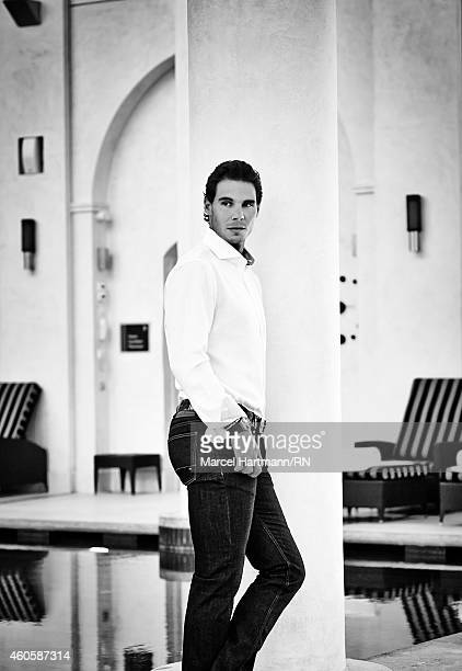 Tennis player Rafael Nadal is photographed on July 25 2014 in Cannes France