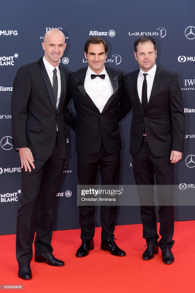 Red Carpet - 2018 Laureus World Sports Awards - Monaco : News Photo