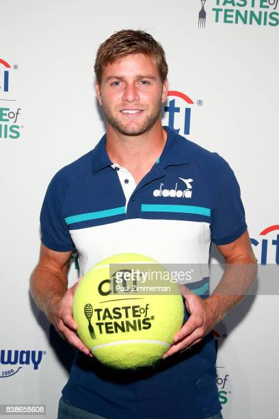 Tennis player Ryan Harrison attends Citi Taste Of Tennis at W New York on August 24 2017 in New York City