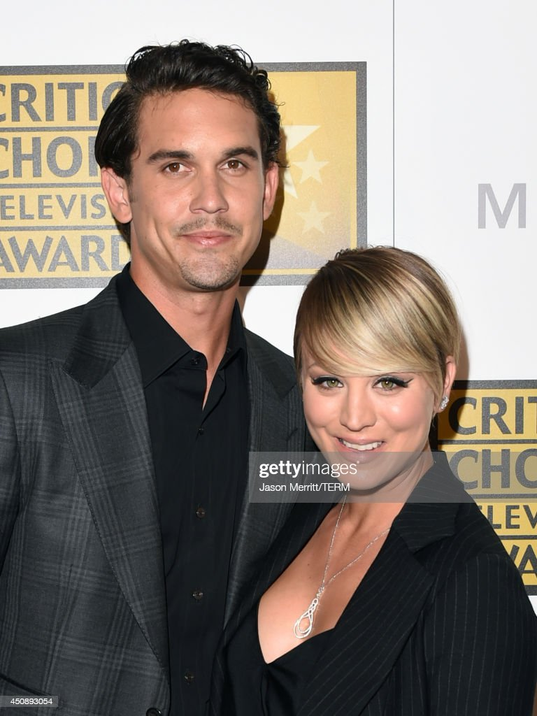 Tennis player Ryan Sweeting (L) and actress Kaley Cuoco attend the 4th Annual Critics' Choice Television Awards at The Beverly Hilton Hotel on June 19, 2014 in Beverly Hills, California.
