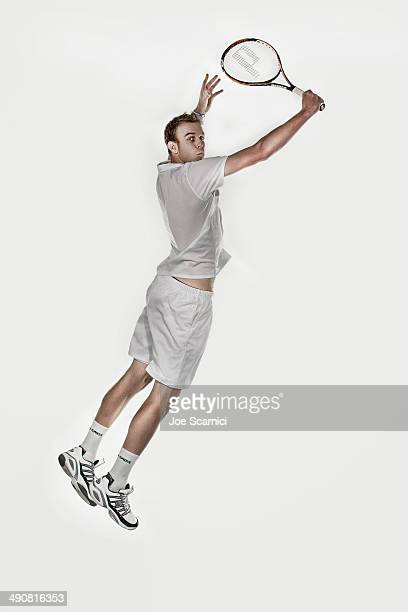 Tennis Player Sam Querrey is photographed for Self Assignment on December 4 2010 in Manhattan Beach California