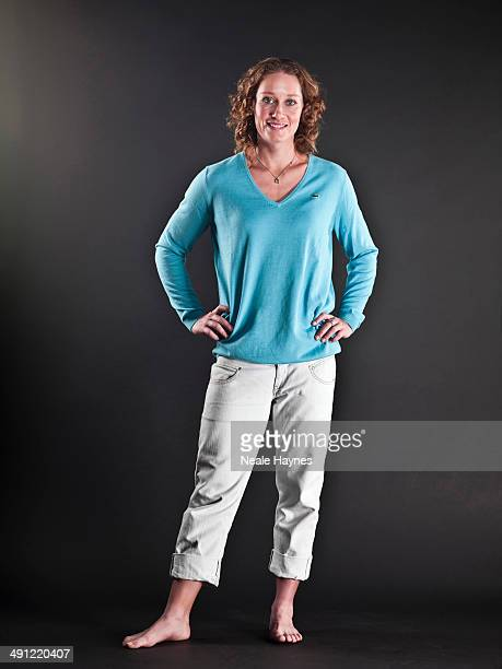 Tennis player Samantha Stosur is photographed in Brighton England