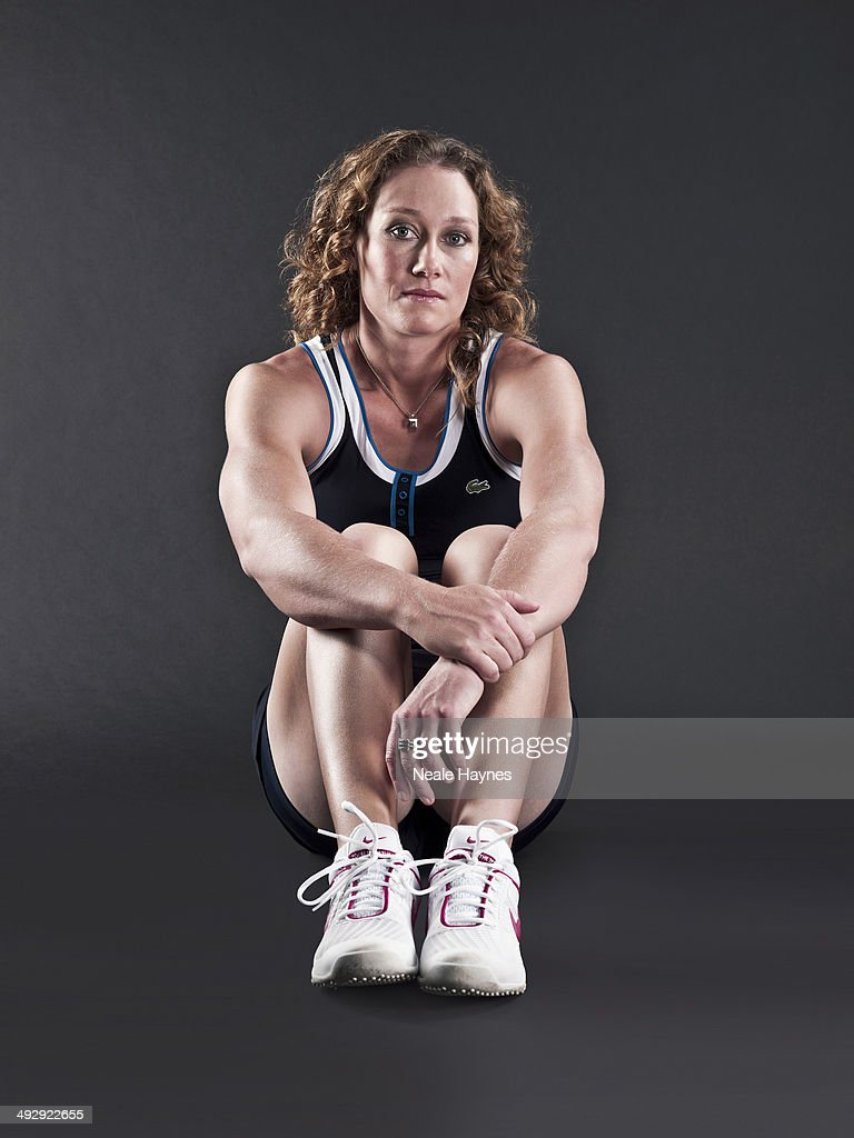 Tennis player Samantha Stosur is photographed in Brighton, England.