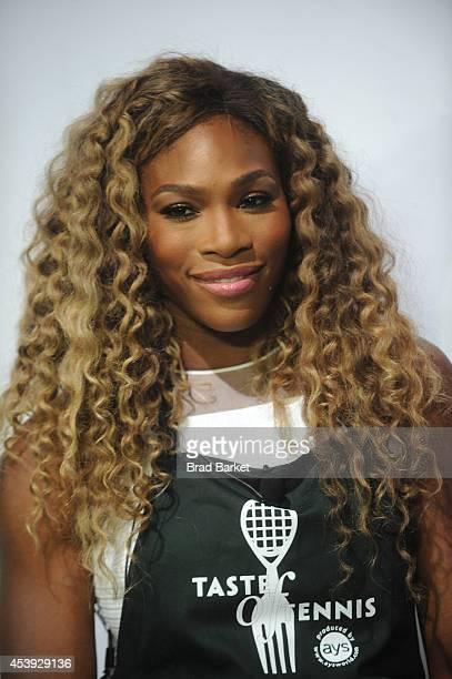 Tennis player Serena Williams attends Taste Of Tennis Week Taste Of Tennis Gala at the W New York on August 21 2014 in New York City