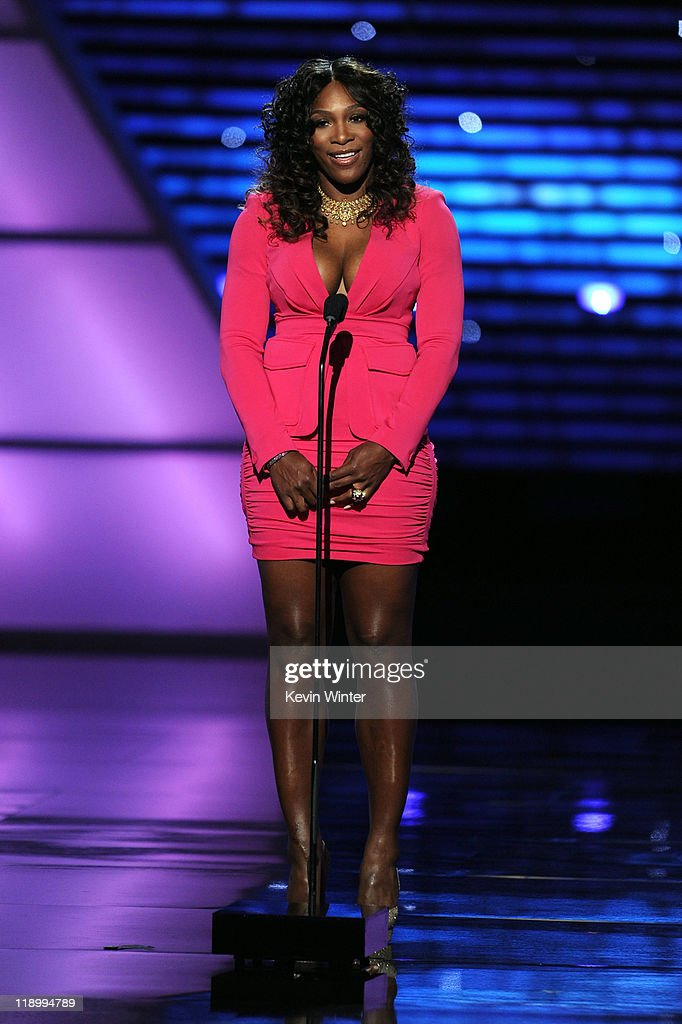 Tennis Player Serena Williams attends The 2011 ESPY Awards at Nokia Theatre L.A. Live on July 13, 2011 in Los Angeles, California.