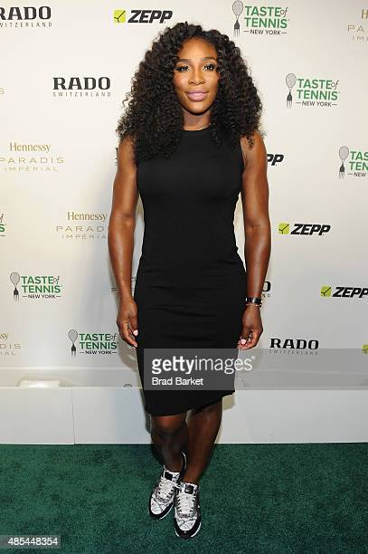 Tennis player Serena Williams attends the Taste of Tennis Gala during Taste of Tennis Week at W New York on August 27 2015 in New York City