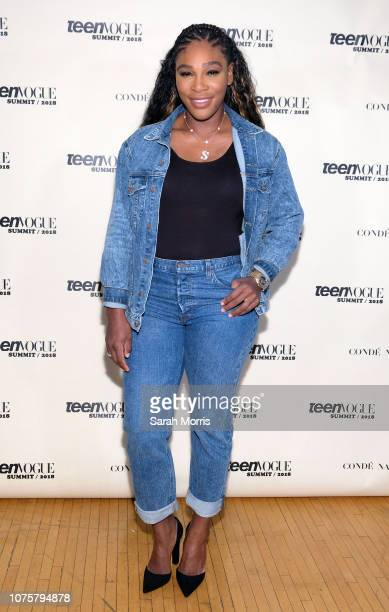 Tennis player Serena Williams attends the Teen Vogue Summit at 72andSunny on December 1, 2018 in Los Angeles, California.