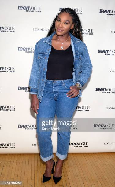 Tennis player Serena Williams attends the Teen Vogue Summit at 72andSunny on December 1 2018 in Los Angeles California