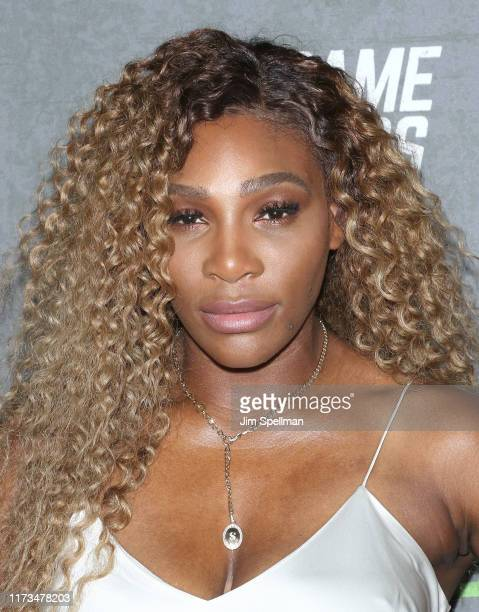 Tennis player Serena Williams attends the The Game Changers New York premiere at Regal Battery Park 11 on September 09 2019 in New York City