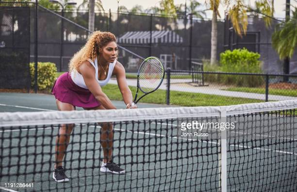 Tennis player Serena Williams is photographed for Amazon on October 9, 2020 in Miami, California.
