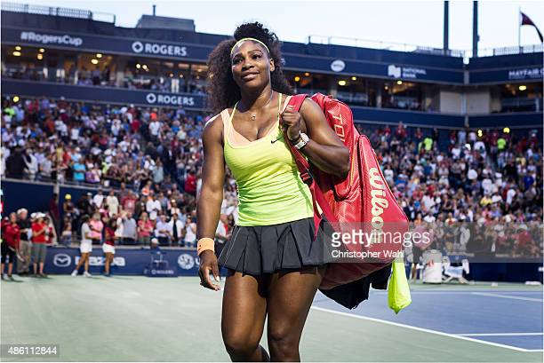 Tennis player Serena Williams is photographed for Self Assignment on August 5 2015 in Toronto Ontario