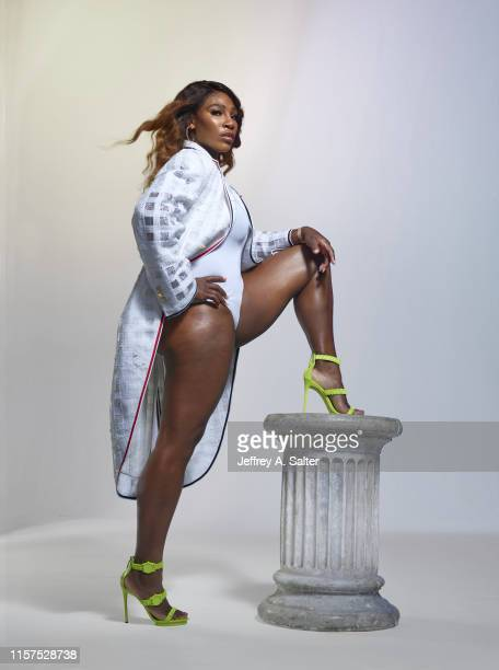 Tennis player Serena Williams is photographed for Sports Illustrated on June 24, 2019 in London, England. COVER IMAGE. CREDIT MUST READ: Jeffrey A....