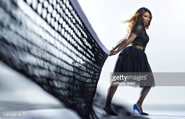 Tennis player Serena Williams is photographed for Sports Illustrated on June 24 2019 in London England PUBLISHED IMAGE CREDIT MUST READ Jeffrey A...