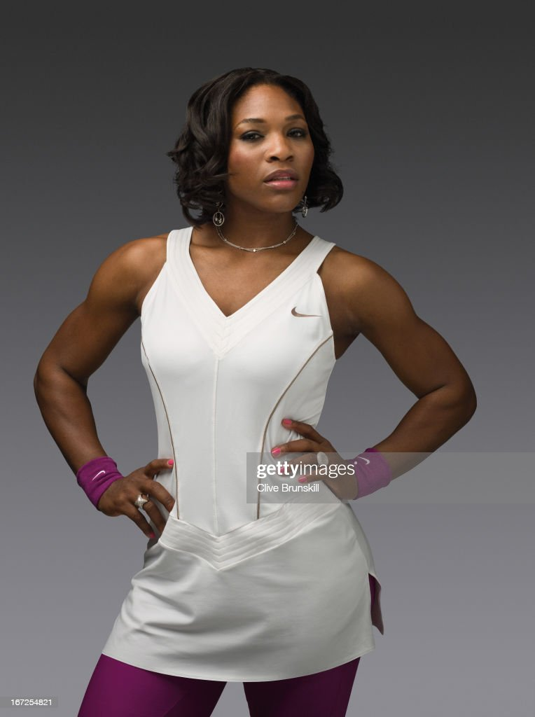 Serena Williams, Portrait shoot, November 3, 2007