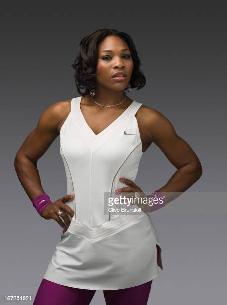 Tennis player Serena Williams is photographed on November 3 2007 in London England