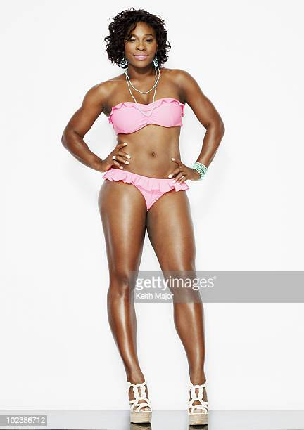 Tennis player Serena Williams poses for a portrait session on April 16 New York NY