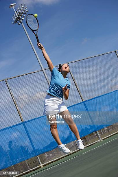 tennis player serves - match point scoring stock pictures, royalty-free photos & images