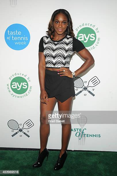Tennis player Sloane Stephens attends Taste Of Tennis Week Taste Of Tennis Gala at the W New York on August 21 2014 in New York City