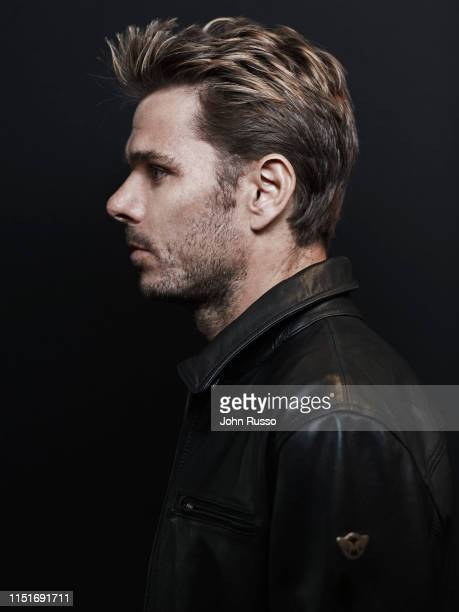 Tennis player Stan Wawrinka is photographed for Gio Journal on March 5, 2019 in Indian Wells, California.