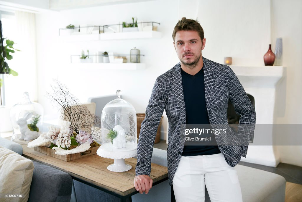 Stanislas Wawrinka, Portrait shoot, March 18, 2014