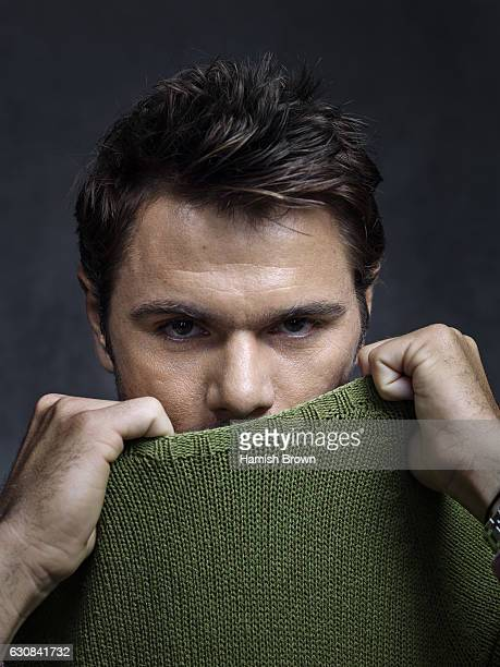 Tennis player Stanislas Wawrinka is photographed for Schweizer Illustrierte Sport magazine on June 22 2016 in London England