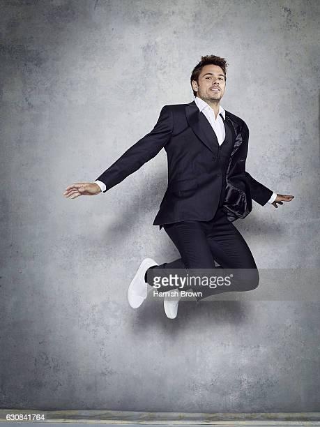 Tennis player Stanislas Wawrinka is photographed for Schweizer Illustrierte Sport magazine on June 22 2016 in London England