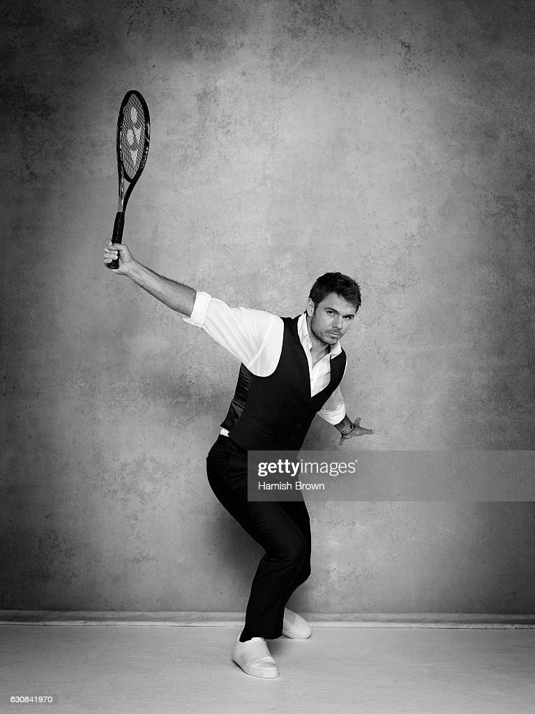 Tennis player Stanislas Wawrinka is photographed for Schweizer Illustrierte Sport magazine on June 22, 2016 in London, England.