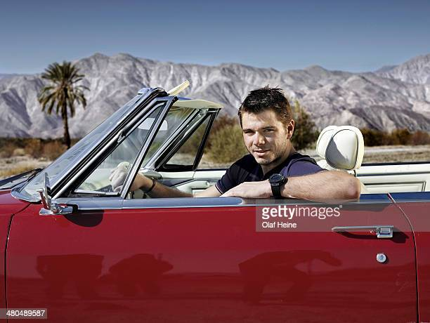 Tennis player Stanislas Wawrinka is photographed on October 3 2009 in Palm Springs California
