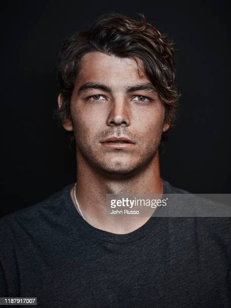 Tennis player Taylor Fritz is photographed for Gio Journal on March 5, 2019 in Indian Wells, California.