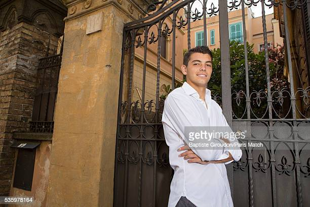 Tennis player Taylor Fritz is photographed for Paris Match on May 8, 2016 in Rome, Italy.